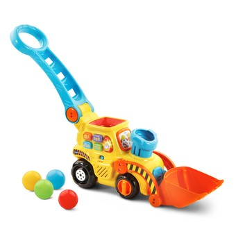 Pop-a-Balls Push & Pop Bulldozer